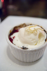 Blackberry and Peach Crisp, Oola Restaurant & Bar, San Francisco