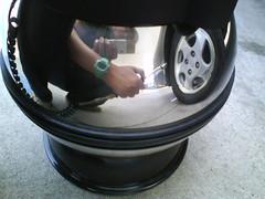 Air pressure check