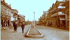 JINNAH ROAD ( BRUCE RD) QUETTA  ( Balochistan) 1930'S; BEFORE THE 1935 EARTHQUAKE (quettabalochistan2) Tags: road 1930s earthquake bruce before rd 1935 the jinnah quetta balochistan