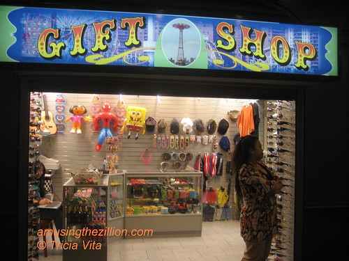Newly Opened Gift Shop in Coney Islands Stillwell Terminal. Photo © Tricia Vita/me-myself-i via flickr