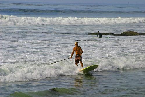 Hitting shore