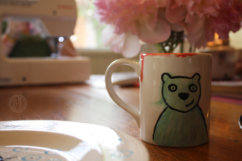 Blue Bear Bug Mug