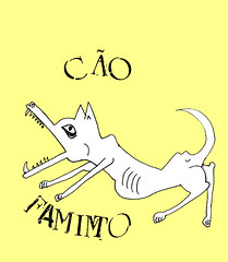 Zaf, a cadela