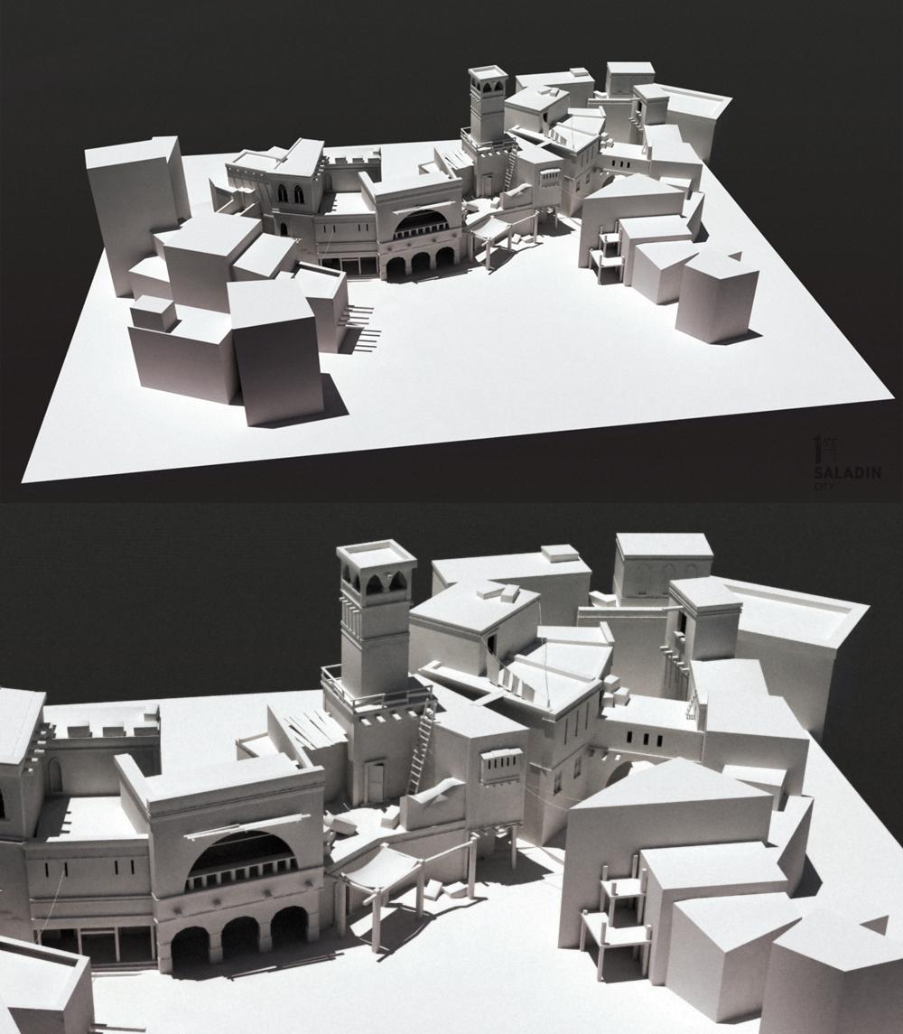 saladin city over