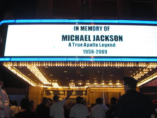 Michael Jackson Tribute at the Apollo Theater in Harlem