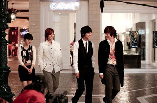 Boys over Flowers cast inside The Venetian Macau