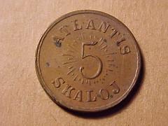 ATLANTIS 5 SKALOJ 1933 - Obverse