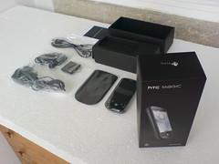 Unboxing HTC Magic