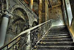 Stairs 0711 (wanus) Tags: berlin abandoned ruins decay urbanexploration urbex modernruins reichsbahn