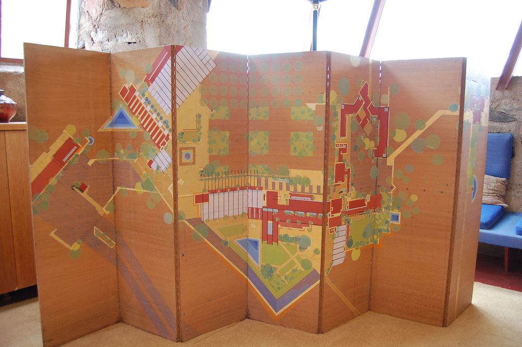 16 Miles of String - Andrew Russeth: Frank Lloyd Wright, Taliesin ...