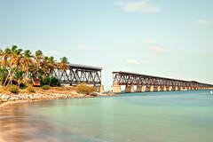 Bahia Honda Rail Bridge (lemank) Tags: bridge m floridakeys gettyimages daytimelongexposure bahiahondastatepark oldrailroadbridge 10stopsndfilter bw110neutraldensitynd30filter
