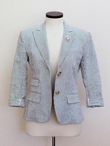 Seersucker-Jacket