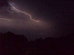 lightning (silverliz) Tags: storm nature weather thunderstorm lightning lightening orage