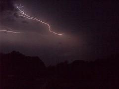 lightning (silverliz) Tags: storm nature weather thunderstorm lightning lightening orage