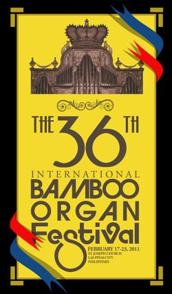 36th International Bamboo Organ Festival