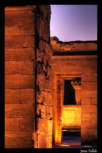 Detalle del Templo de Debod 2