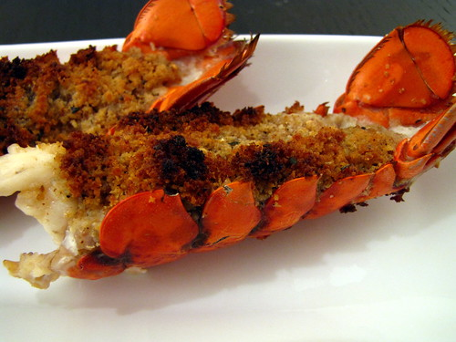 The Almost Epicurean - Baked Stuffed Lobster Tails