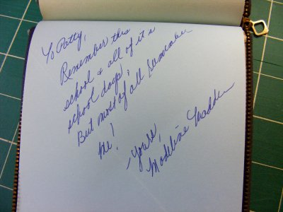 Madeline's Signature