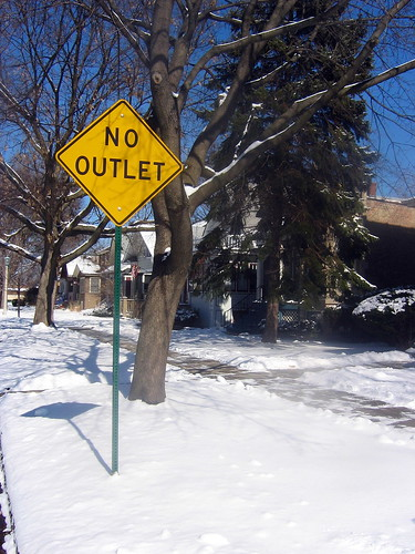 No outlet!