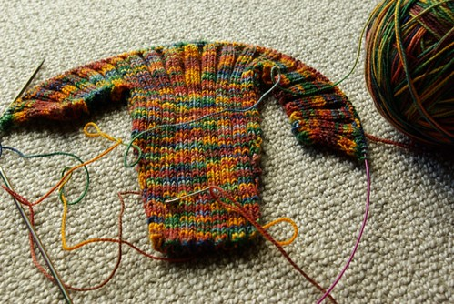 baby ribbed cardigan