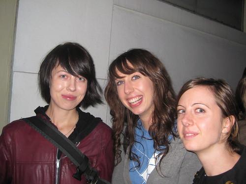 Jess, Amanda, Marci
