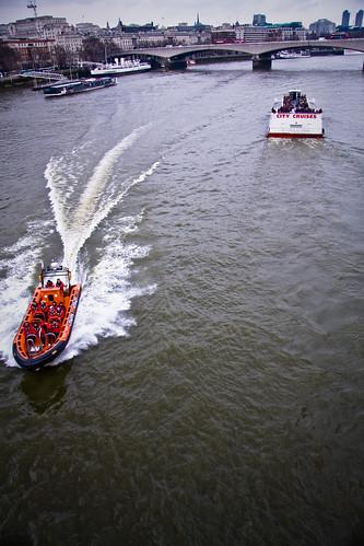 40d boat canon london rib rigidinflatableboat rivercruise riverthames thames voyage creativecommons