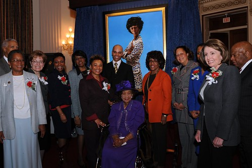 Portrait Unveiling for Shirley Chisholm