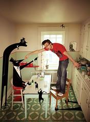 Premire page du Voir Mauricie (Benoit.P) Tags: portrait art montral mtl cartoon strangers culture stranger 40 troisrivieres pascal 50 mauricie homme dessins 40s illustrateur voir blanchet benoitp