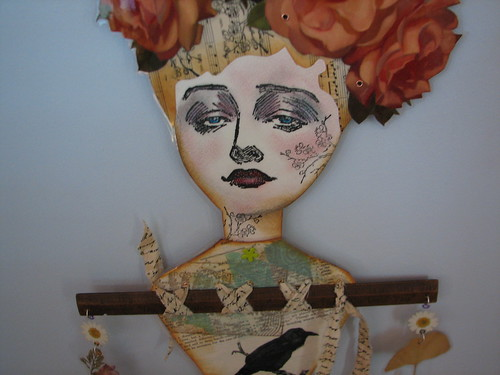 Mother Nature Paper Doll Mobile
