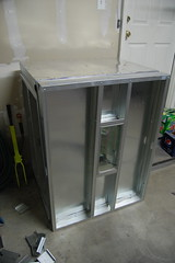 DIY Powder Coating Oven (j_tenkely) Tags: home bike bicycle booth painting diy paint oven spray frame heat powdercoating