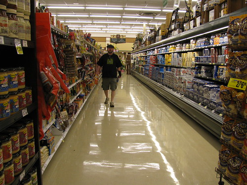 Kyle in the Beer Aisle