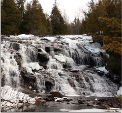 The Other Side (akahodag) Tags: winter up michigan waterfalls bondfalls flowage naturethroughthelens bondflowage