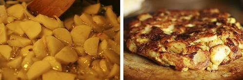 tortilla de patatas diptych