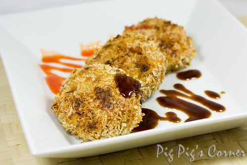 Crispy Panko Minced Pork Patties