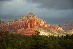Coffee Pot Rock Sedona (Ireena Eleonora Worthy) Tags: arizona southwest landscape sedona redrocks soe naturesfinest blueribbonwinner otw coffeepotrock mywinners goldstaraward rubyphotographer