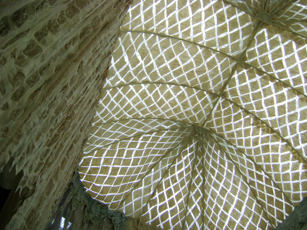Palace Yurt by Janice Arnold ceiling