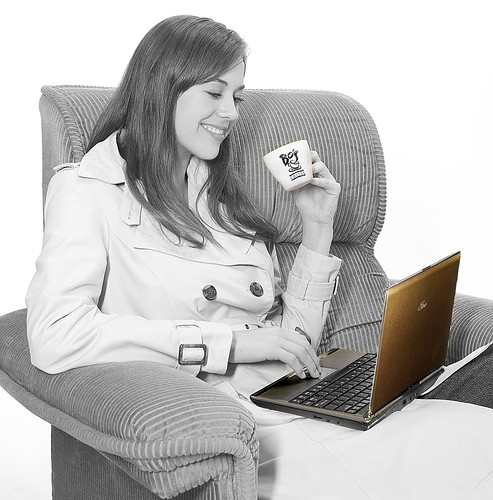 Asus EEE PC and Bo's Coffee promo