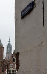 Kerkstraat, Amersfoort (Christel Stol) Tags: amersfoort langejan canonef24105mmf4lisusm onzelievevrouwentoren canoneos450d