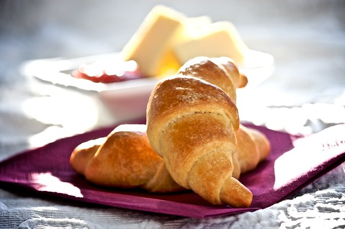 Morning Fresh Croissants