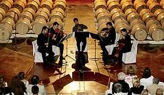 Todo listo para Música Clásica por los Caminos del Vino