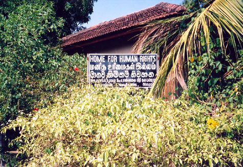 Home for Human Rights Office, Trincomalee