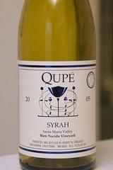 2005 Qupé Bien Nacido Vineyard Syrah