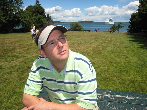 Me in Maine (photo by Jkirlin)