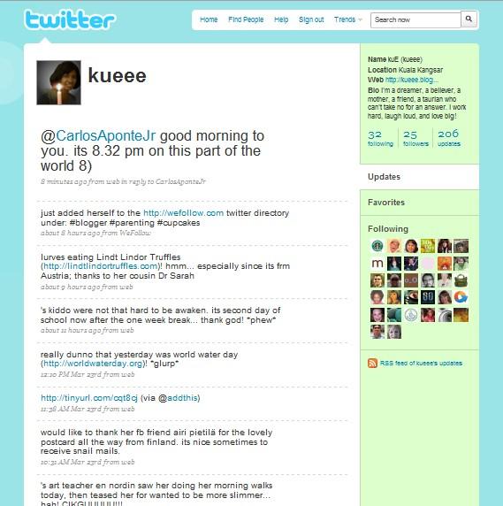kuE' twitter