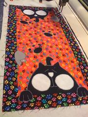 Cat & Mouse 1 (CASharp) Tags: cat mouse quilt bradley patchwork applique