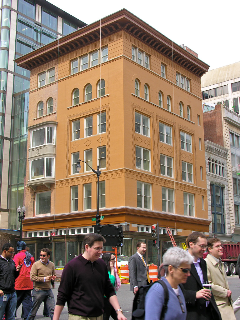 An Old Building Gets a New Lease on Life in Downtown, DC (1 of 3)