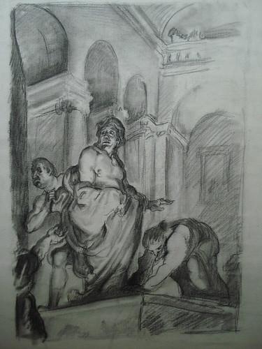023-Pérez Vigo-Dibujo boceto