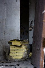 Braddock, PA - Need a Phone Book? (C. Young Photography) Tags: door canon eos book photo flickr phone penn