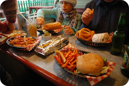 Dinner at Dick's Dairy