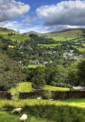 England: Cumbria, Across Ambleside (Tim Blessed) Tags: uk trees sky nature landscapes countryside scenery lakedistrict cumbria singlerawtonemapped goldstaraward